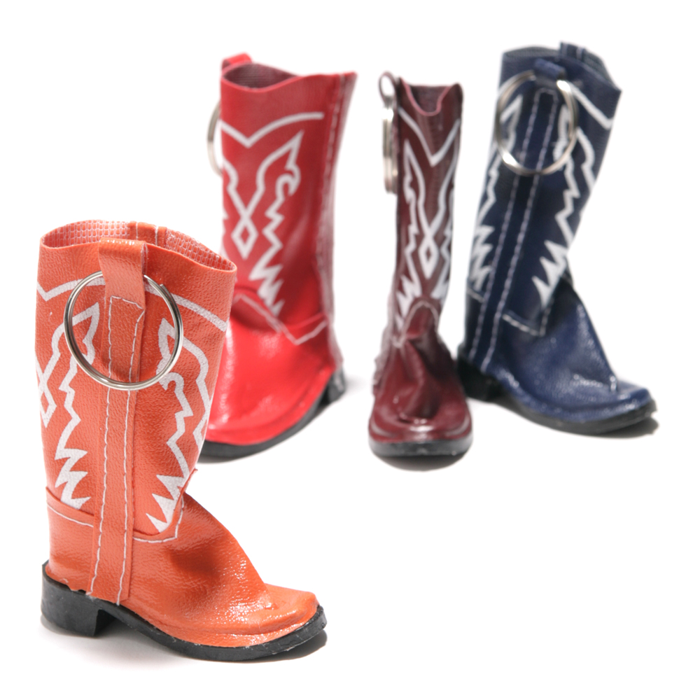 Cowboy Boot Keychains