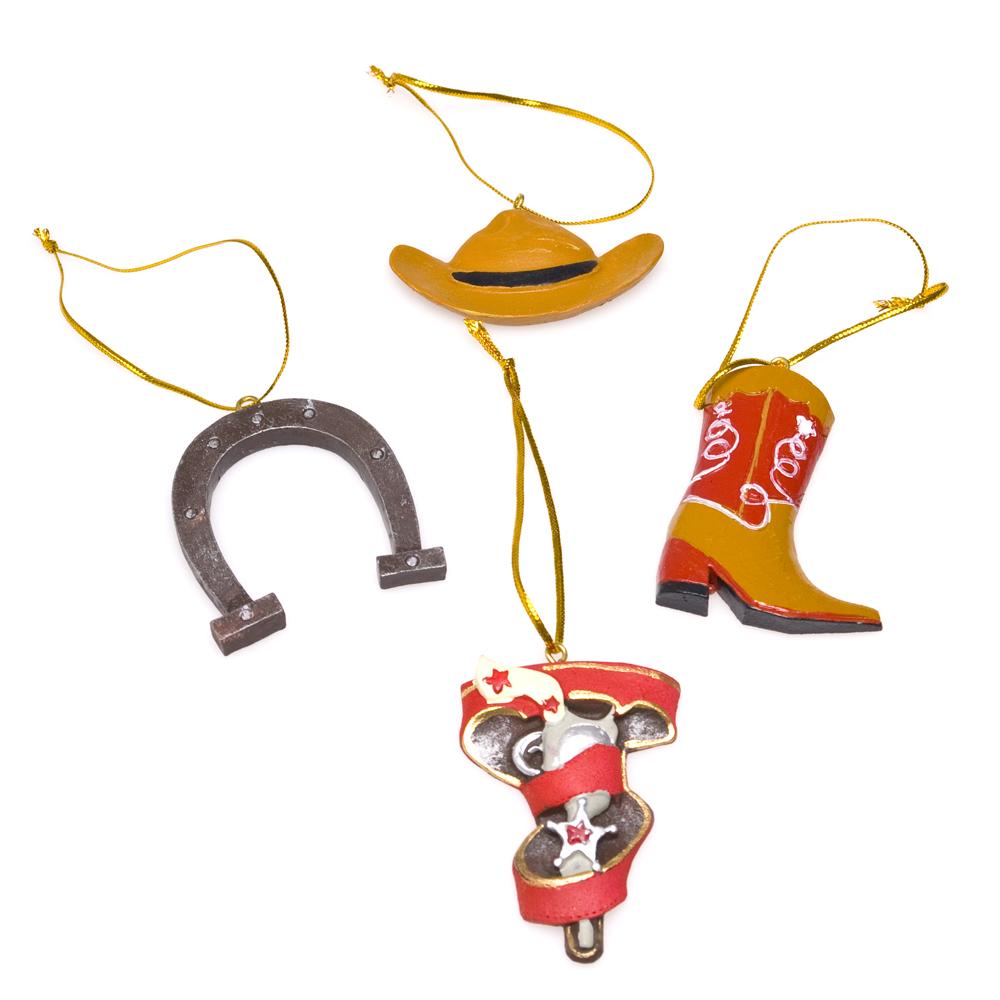 Cowboy Ornaments