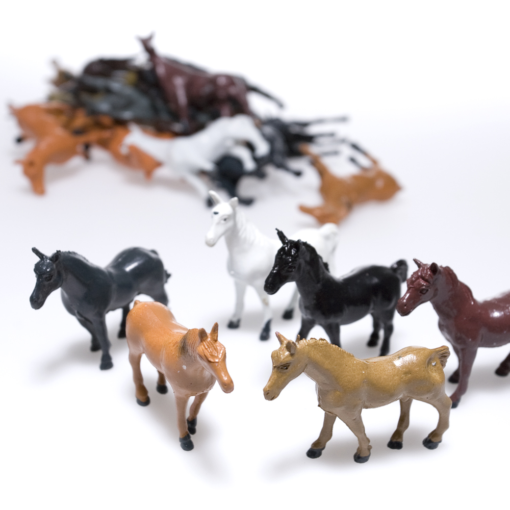 Plastic Horses