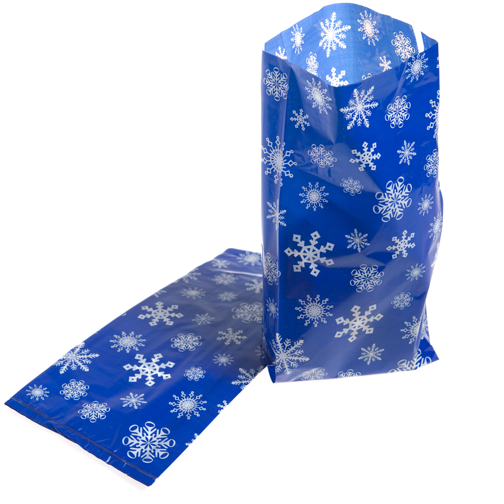 Snowflake Cellophane Bags