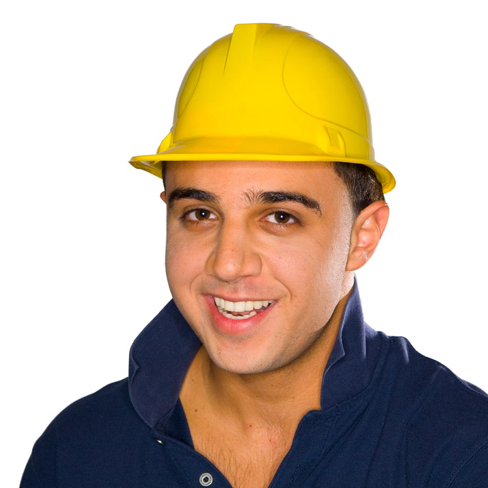 Yellow Construction Hats 146-148