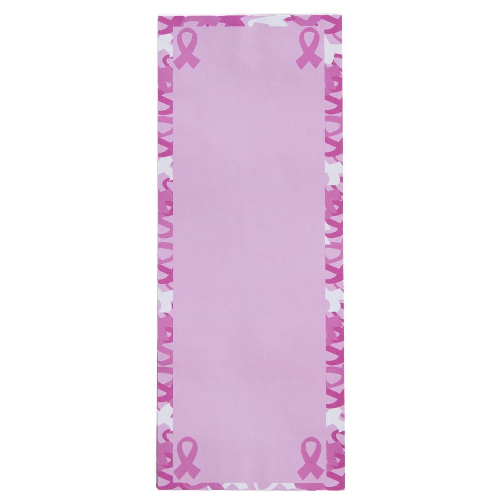 Pink Ribbon Magnetic Notepad