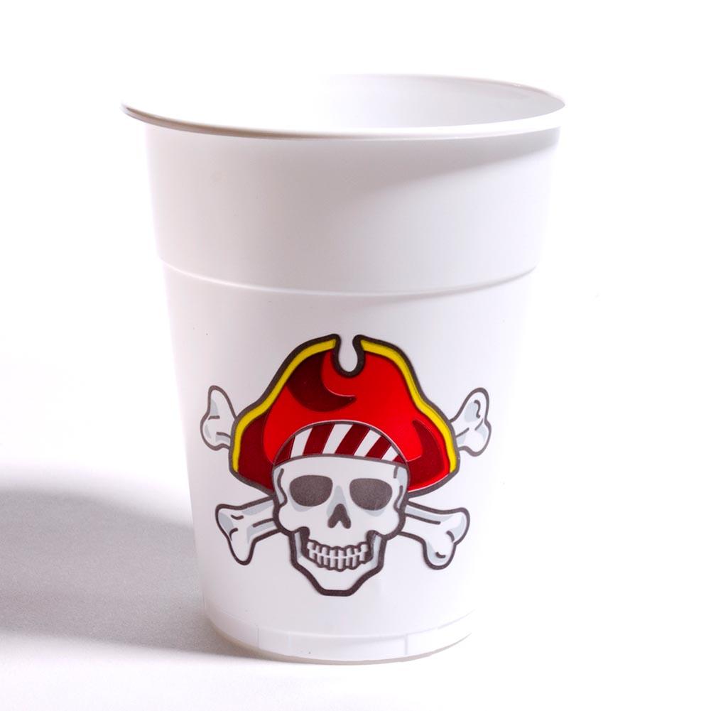 Pirate 16 oz. Plastic Cups 146-172