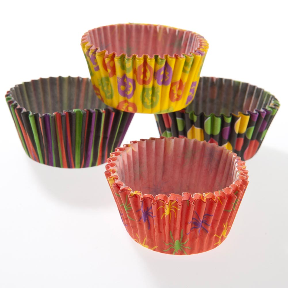 Halloween Paper Baking Cups 146-1764