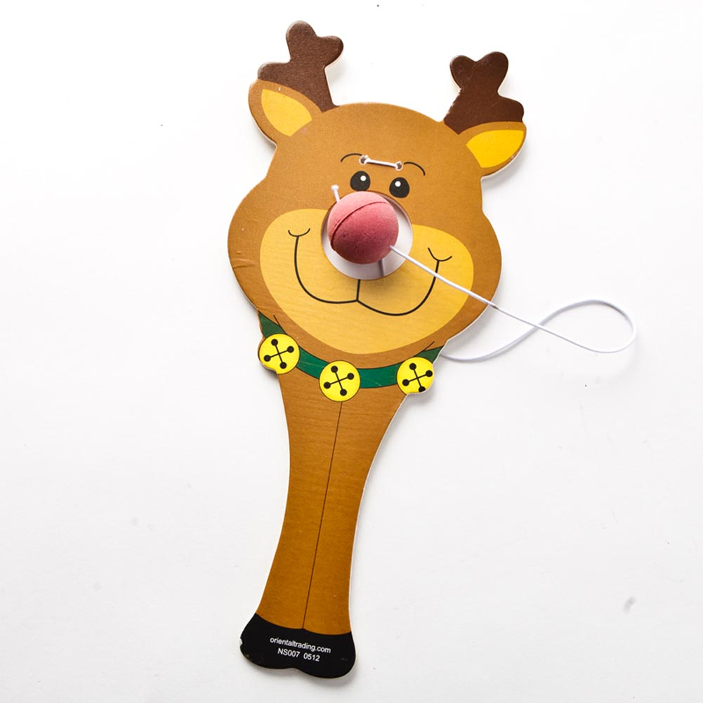 Reindeer Paddle Ball Games