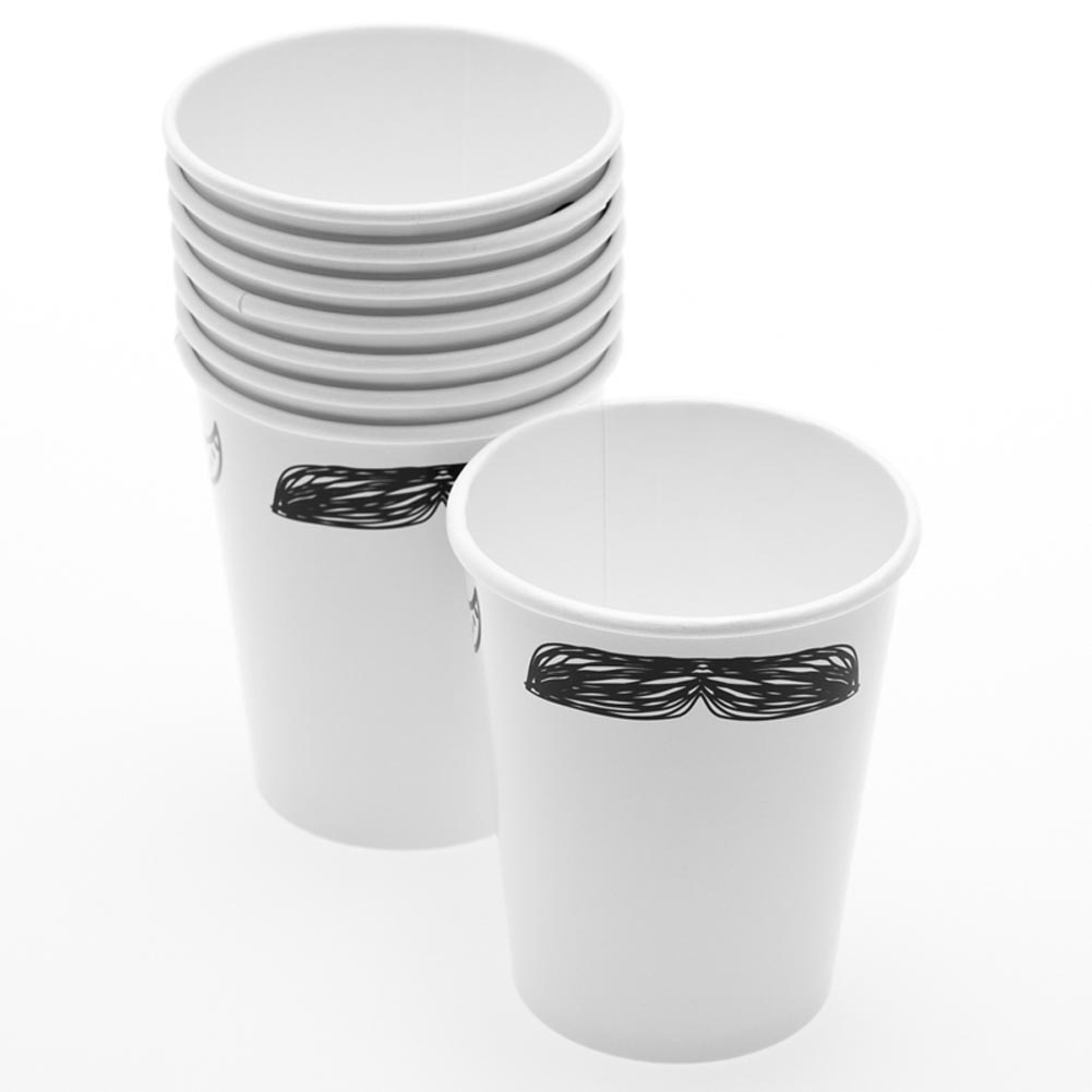 Mustache 9 oz. Cups 146-2205