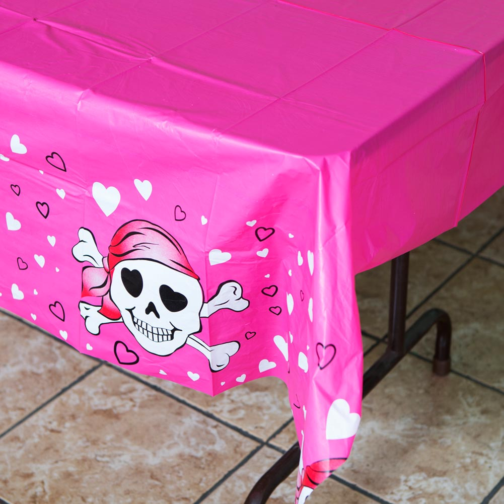 Pink Pirate Tablecover