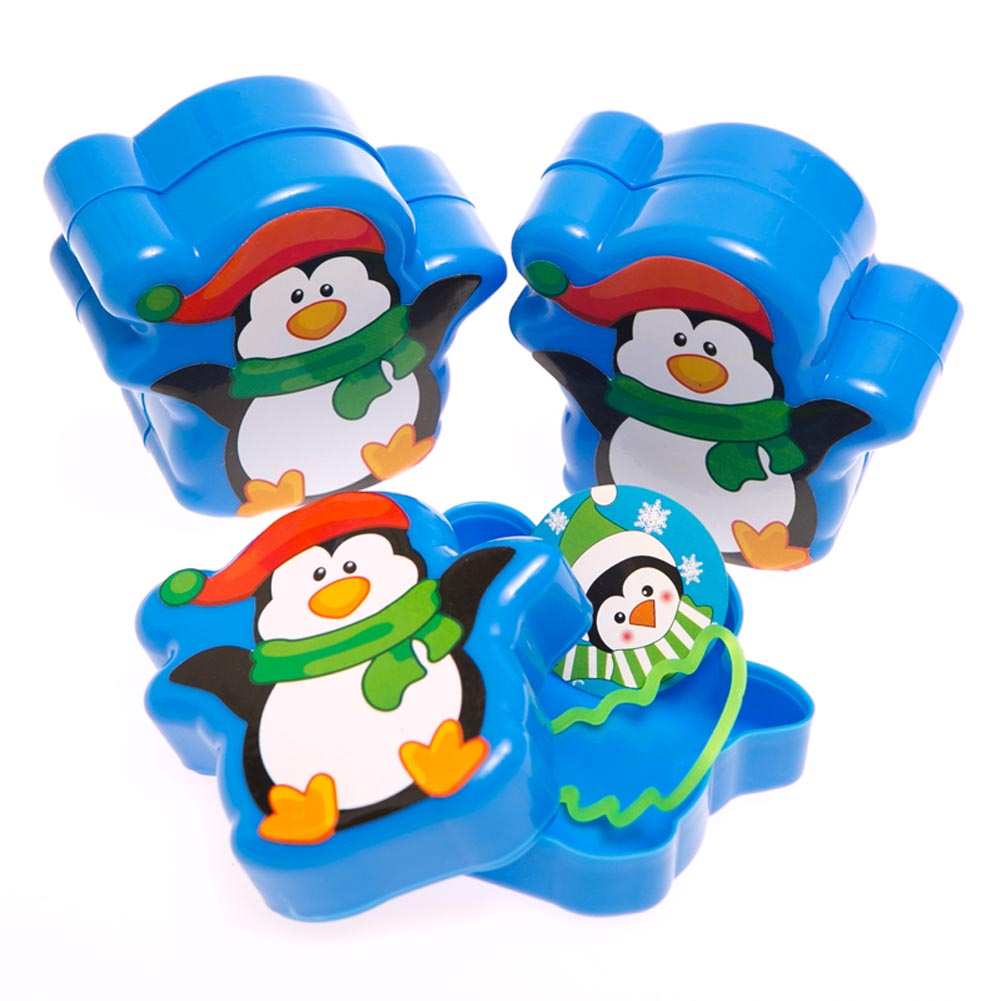 Toy Filled Penguin Containers 146-2304