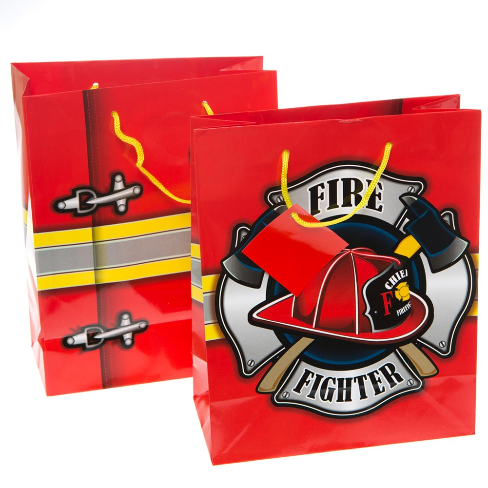 Medium Firefighter Gift Bags