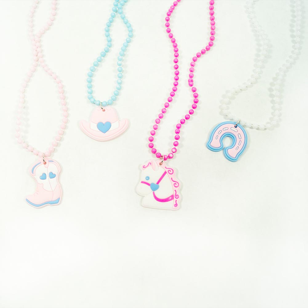 Cowgirl Beaded Necklaces