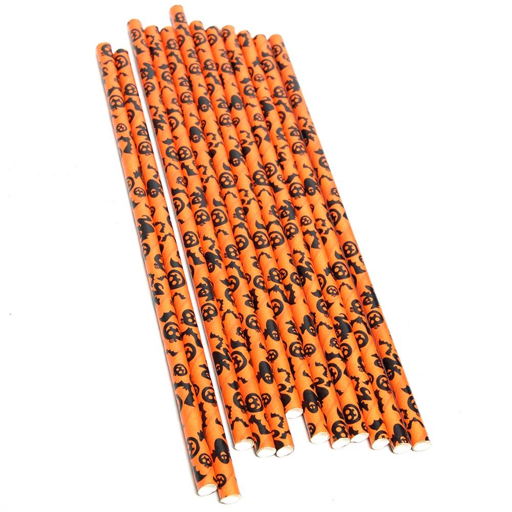 Halloween Paper Straws