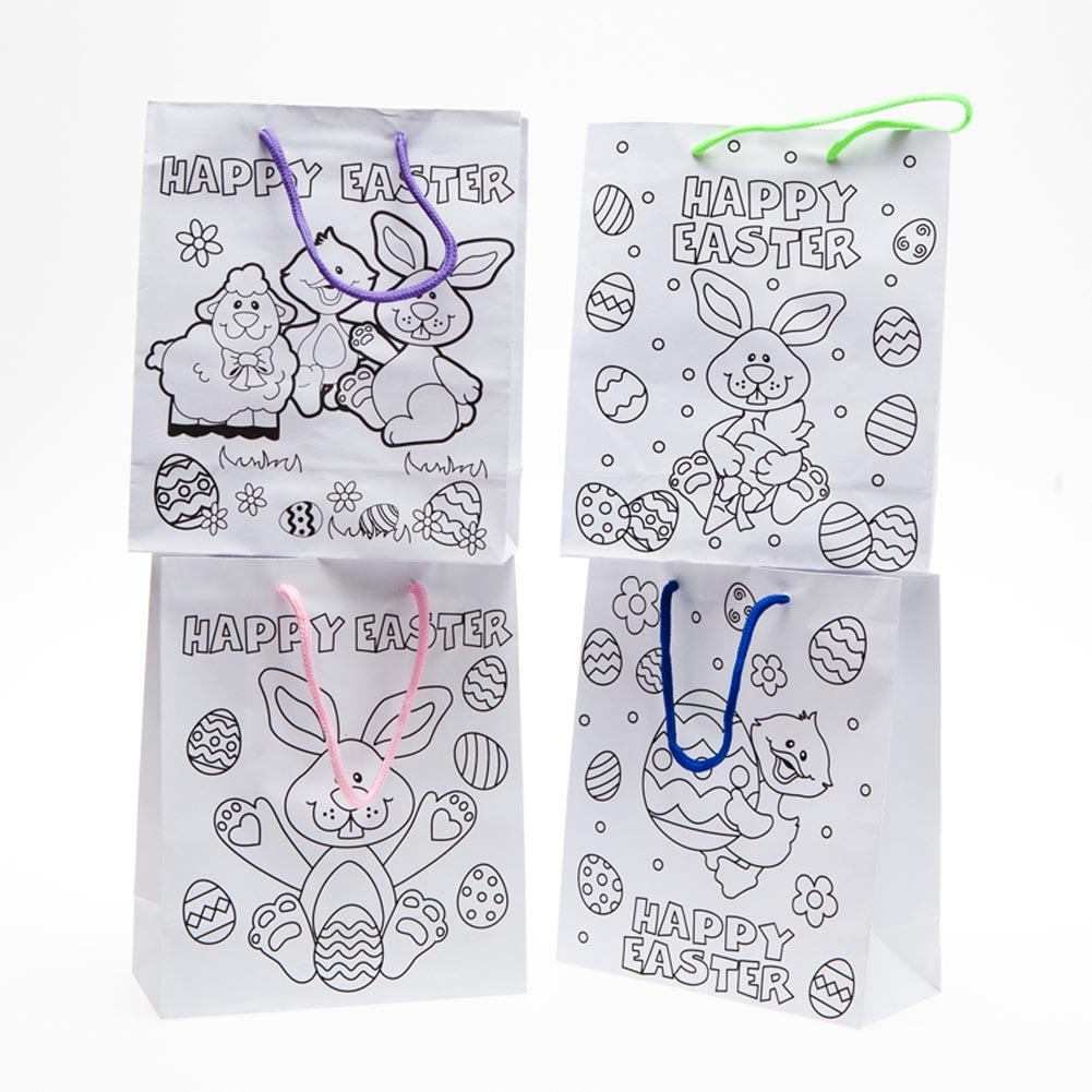 Color Your Own Easter Bags 146-276
