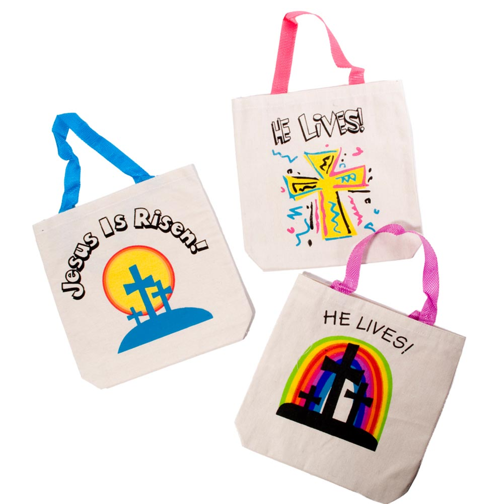 Easter Inspirational Canvas Tote Bag 146-278