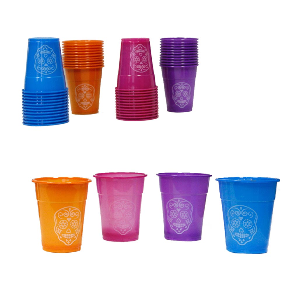 Day of the Dead 16 oz. Plastic Cups 146-2842
