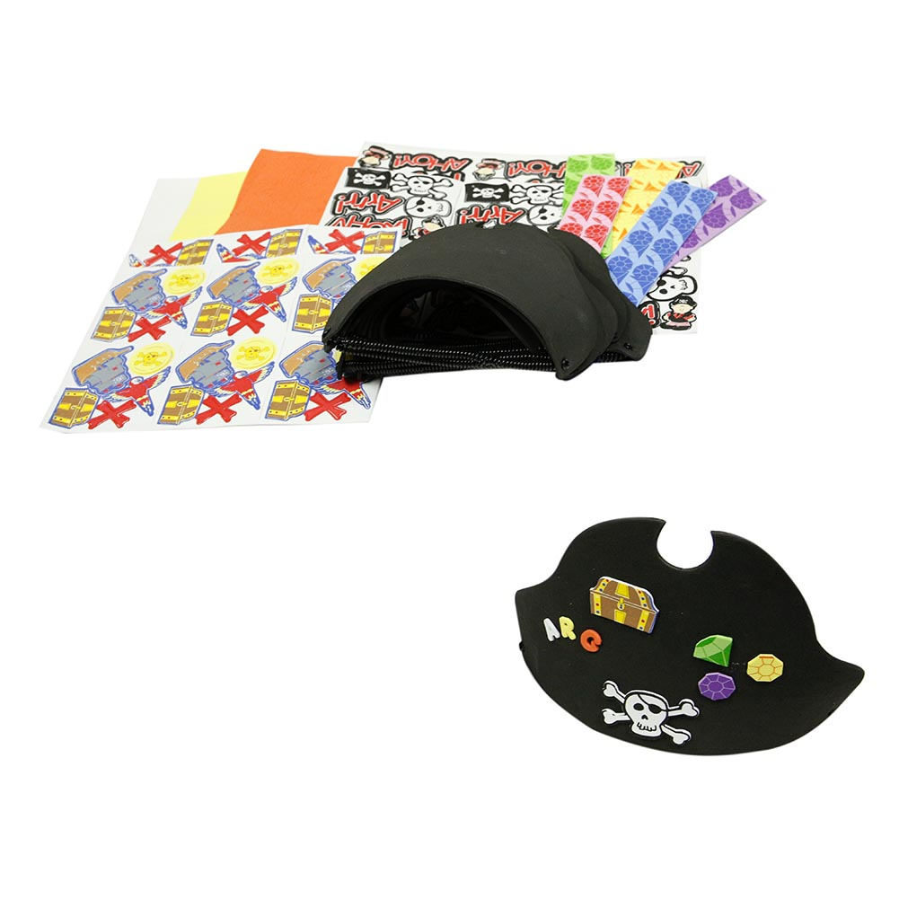 Design Your Own Foam Pirate Hats 146-2852