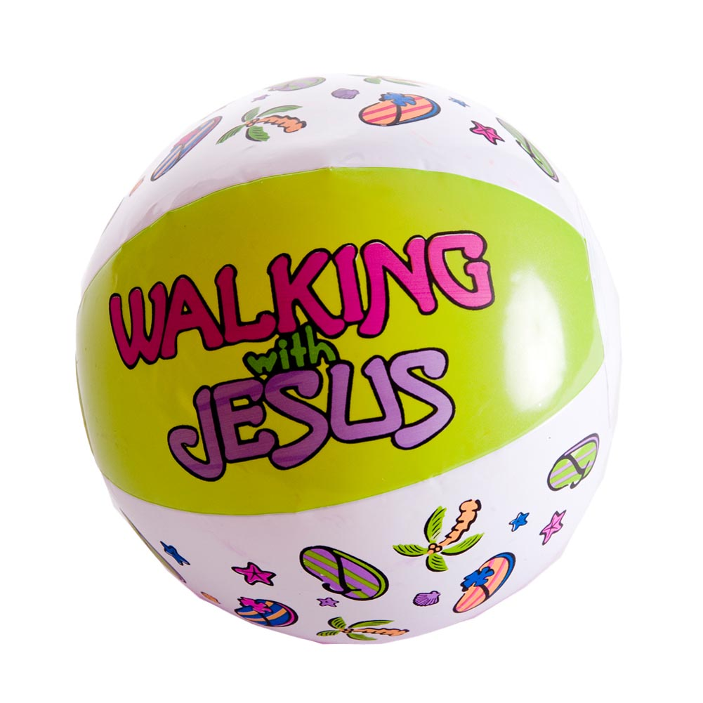 Walking With Jesus Mini Beach Ball 146-358