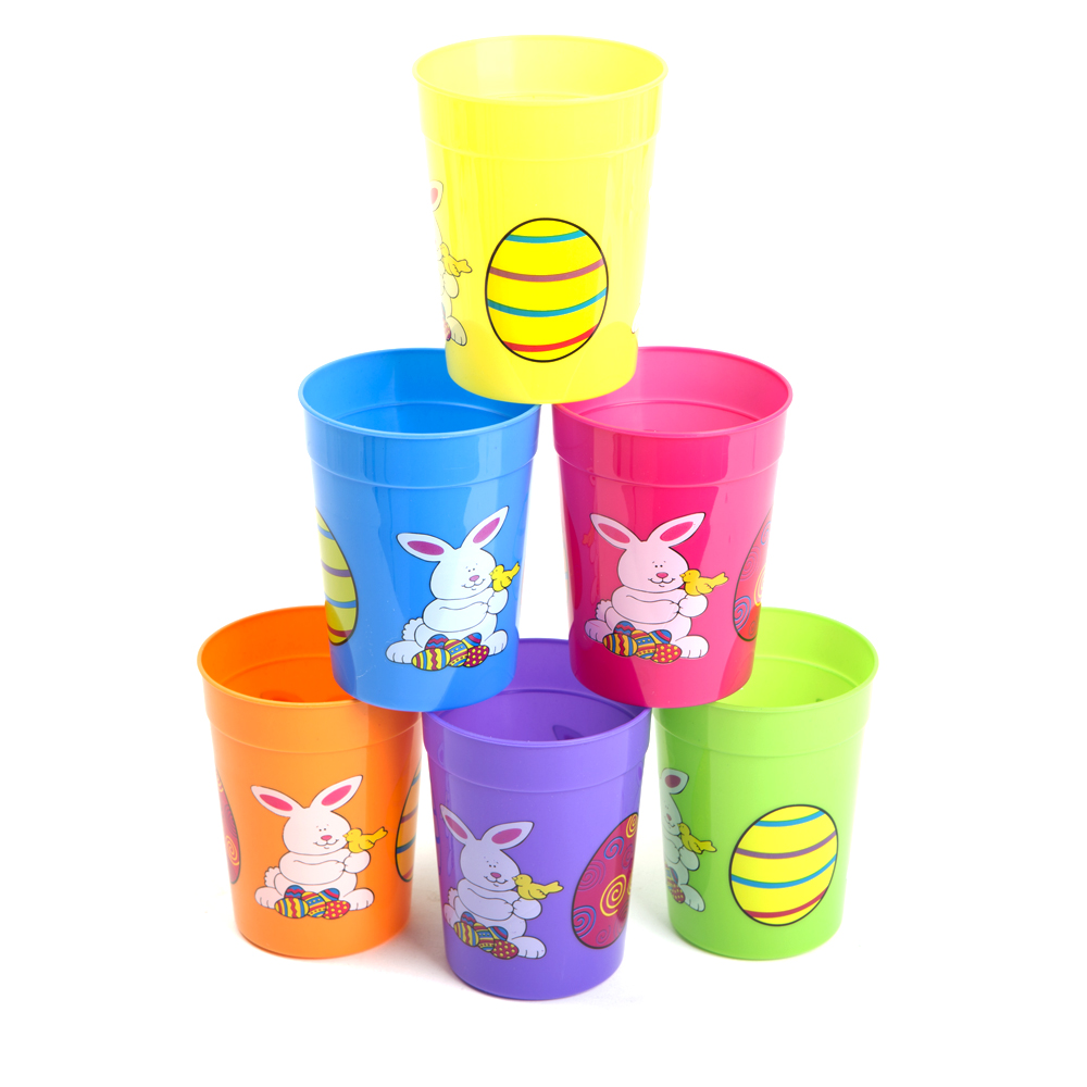 Deluxe Easter 10 oz. Plastic Cups 146-964