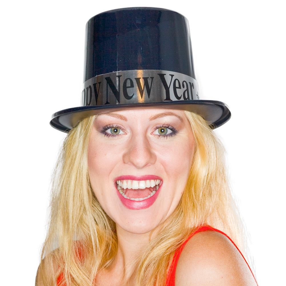 """""Happy New Year"""" Top Hat"" 148-018"