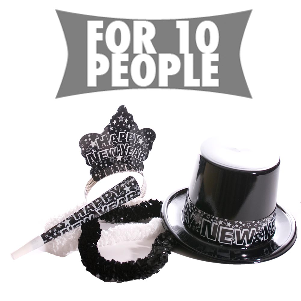 Starry Nights New Years Party Kit For Ten 148-024