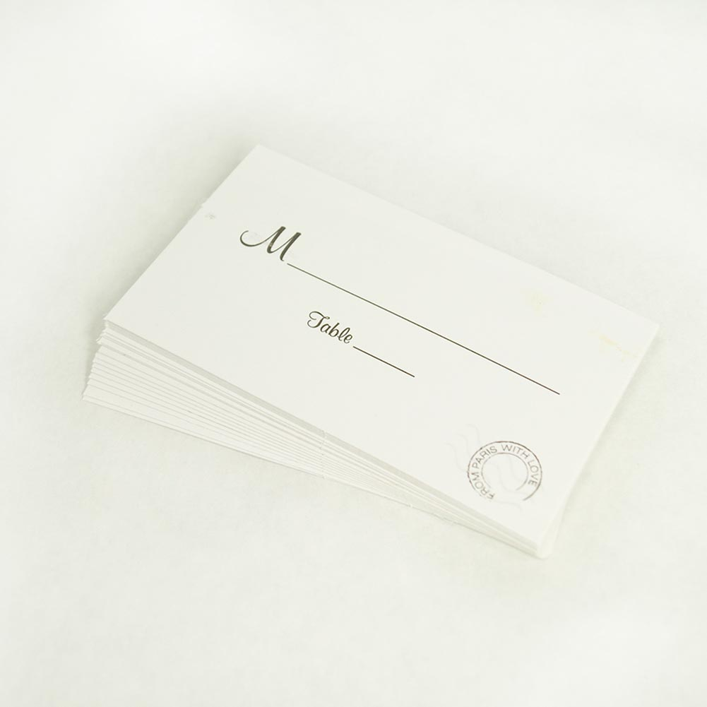 From Paris With Love Place Cards 156-013