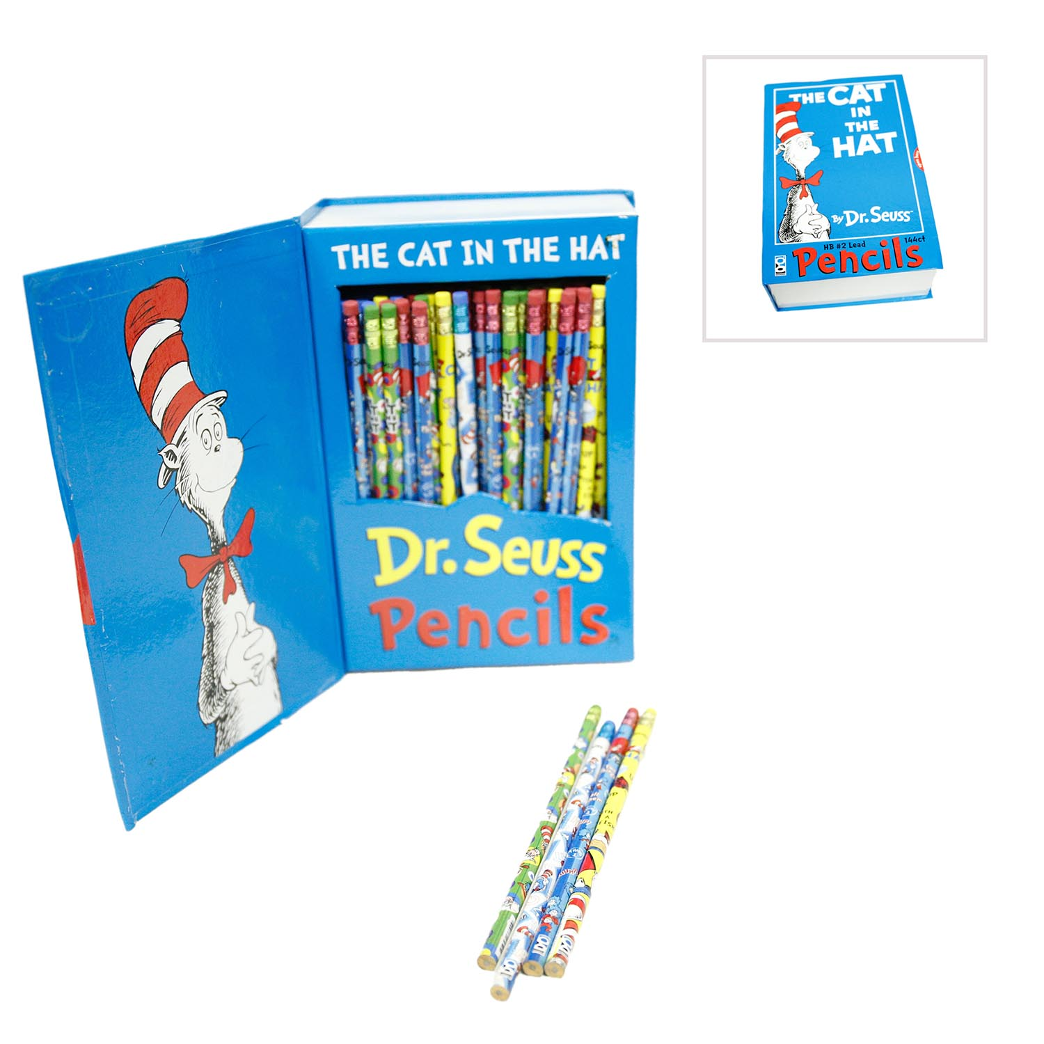 Dr. Seuss' The Cat In The Hat Pencil Assortment 159-002