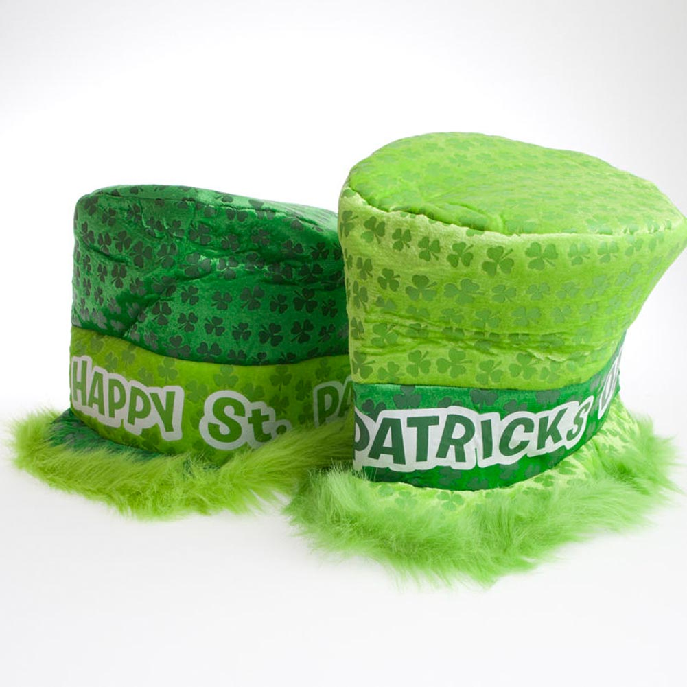 Deluxe Shamrock Top Hat 163-1186
