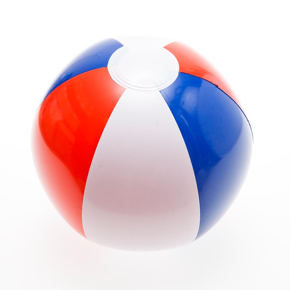 Red, White, And Blue Beach Balls