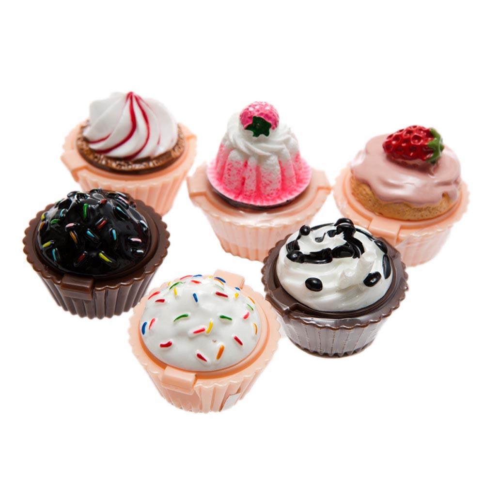 Cupcake Lip Gloss Pots