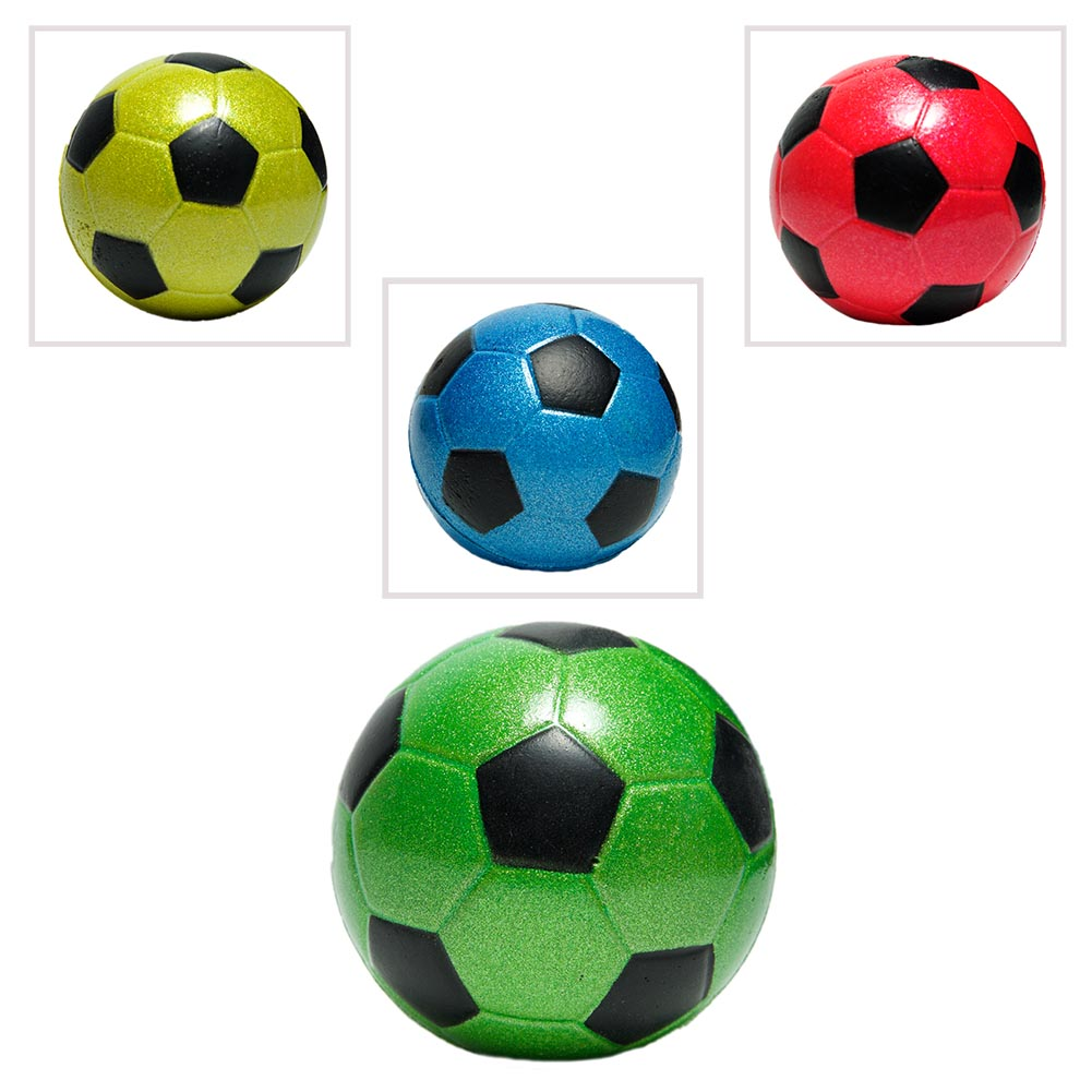 "2.5"" Metallic Soccer Ball"