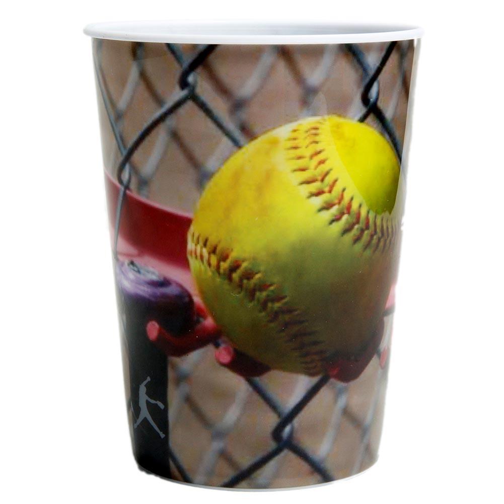 Fastpitch Softball Plastic Souvenir Cup 165-005
