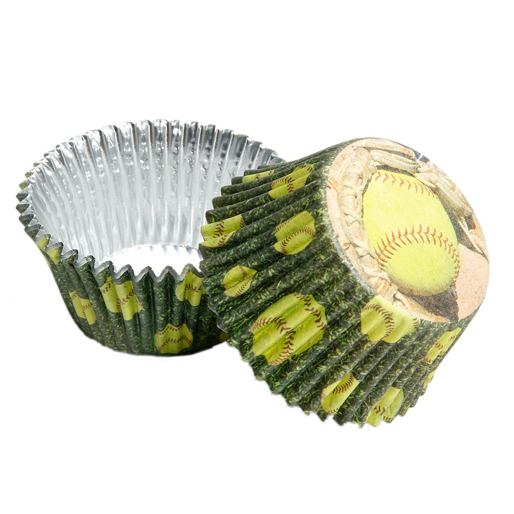 Fastpitch Softball Cupcake Liners 165-010