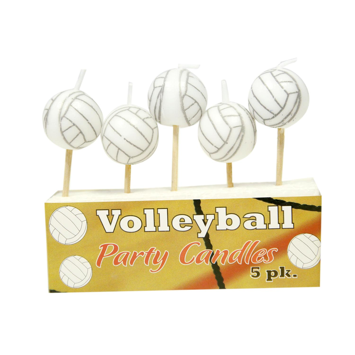 Volleyball Candles