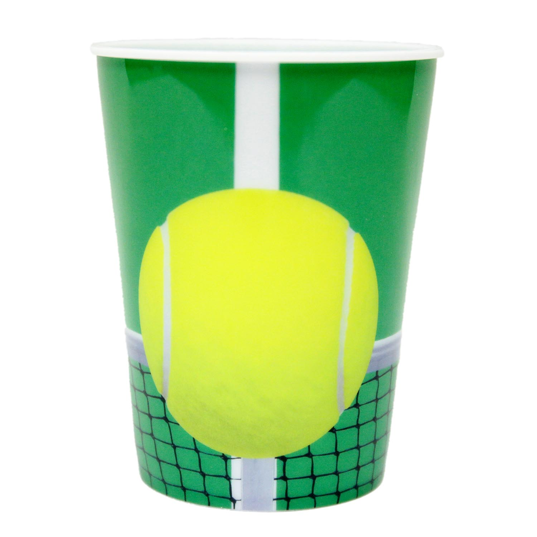 Tennis 16 oz Plastic Cup 165-1015