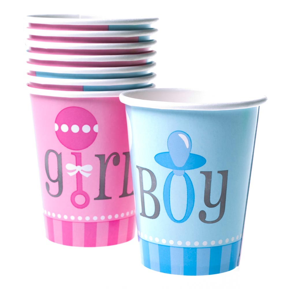 Gender Reveal 9 oz. Cups 203-034
