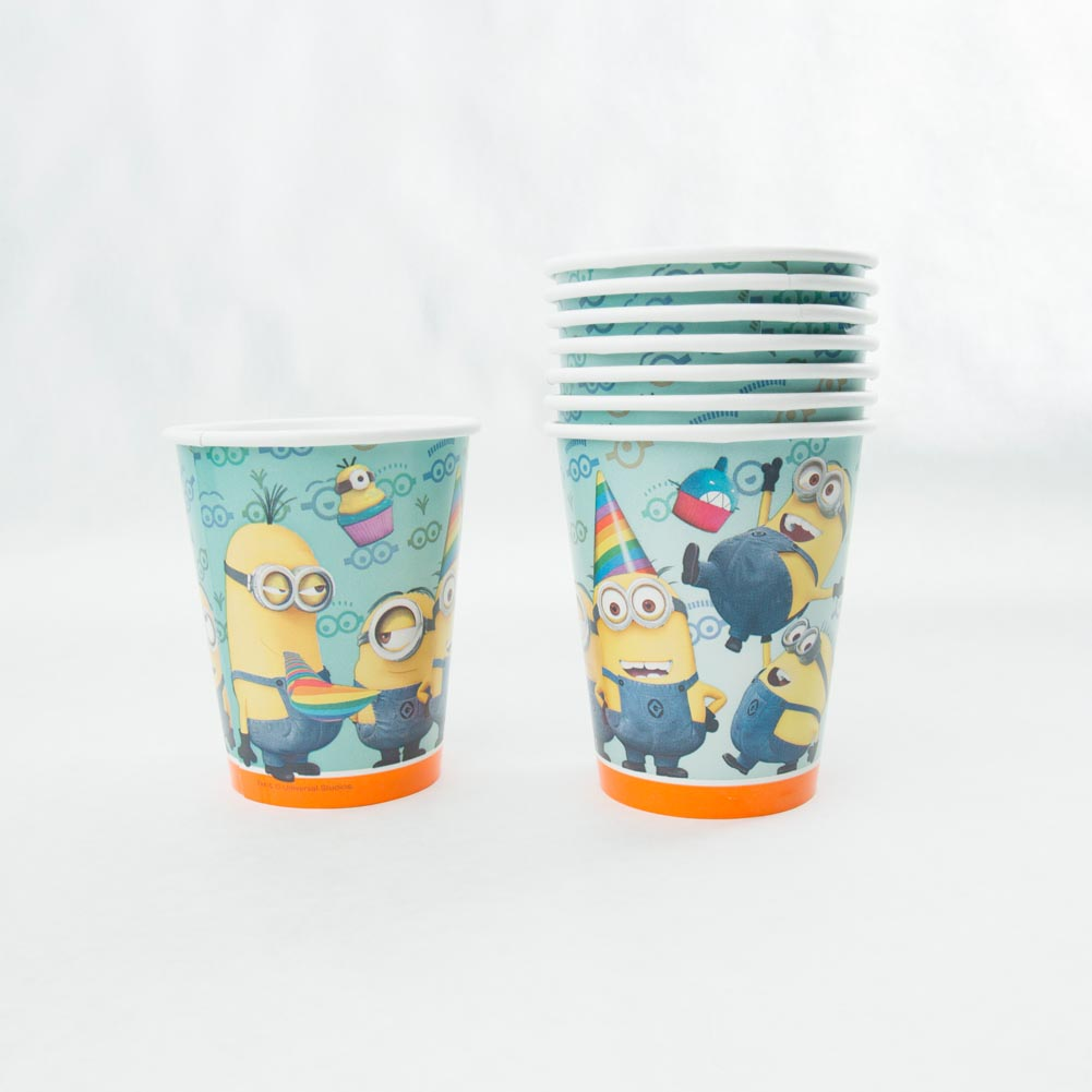 Minion 9 oz. Cups 203-1112