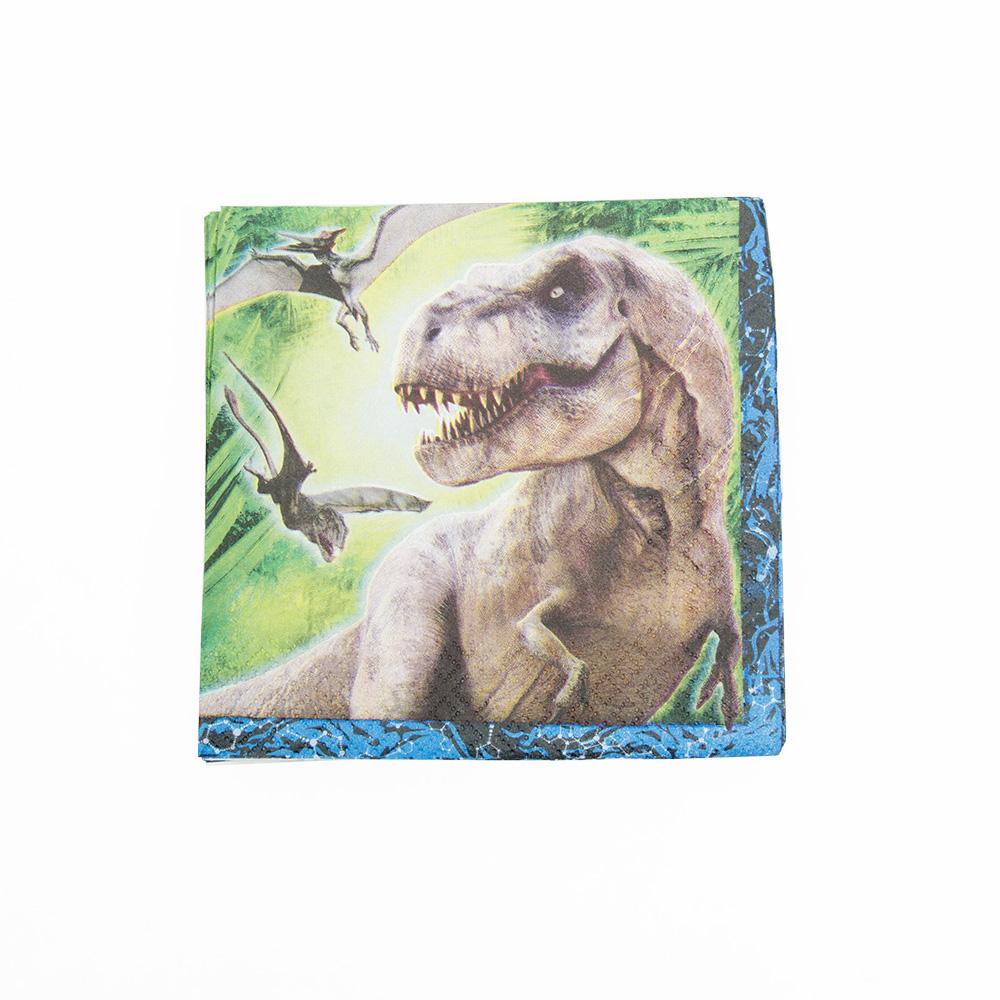 Jurassic World Beverage Napkins 203-1161