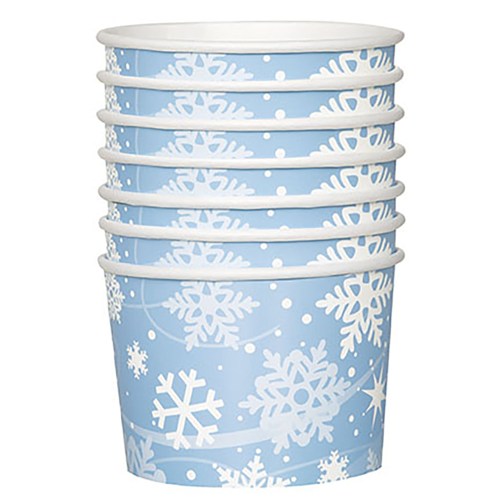 Snowflake Snack Bowls 203-1197