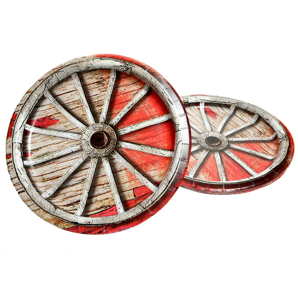 "Rodeo Western 9"" Plates"