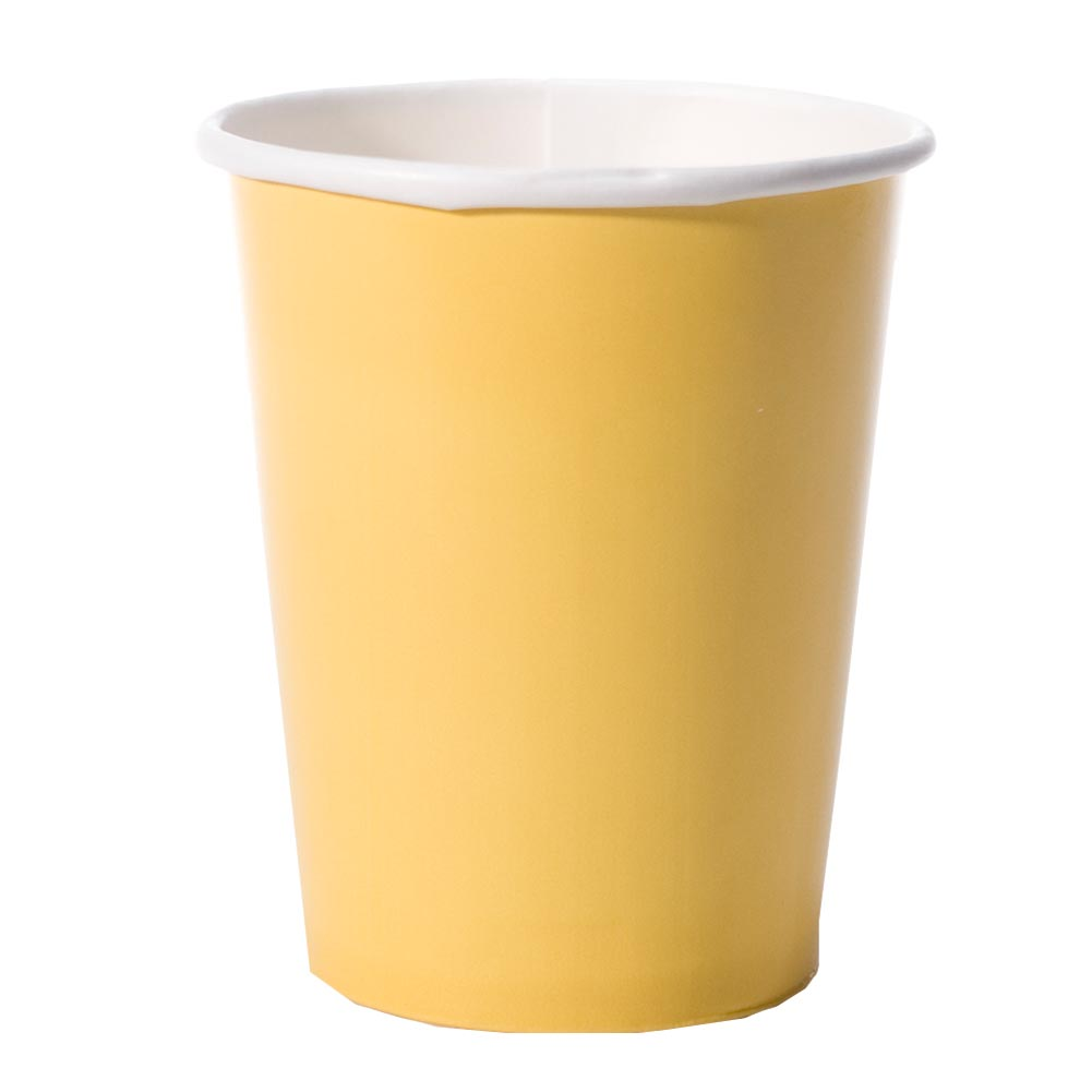 Yellow 12 oz. Cups 203-341
