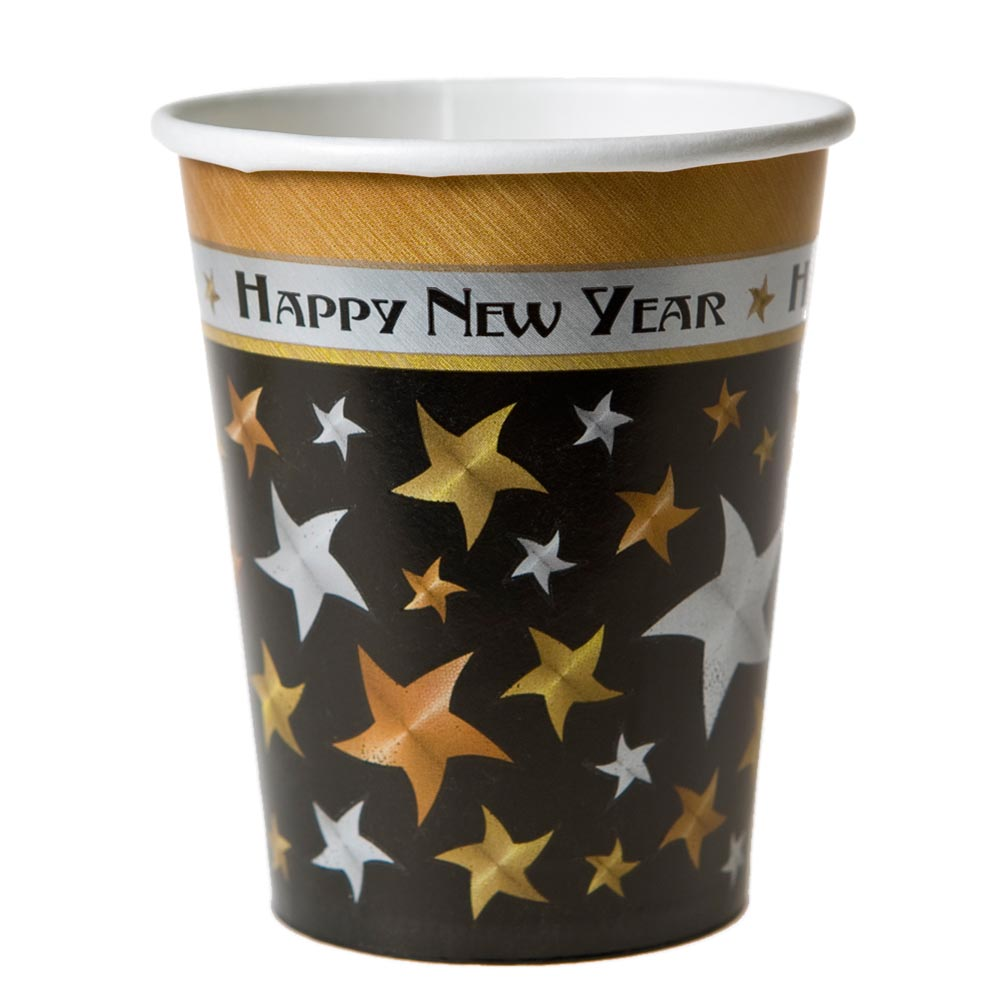 New Years 9 oz. Cups 203-423