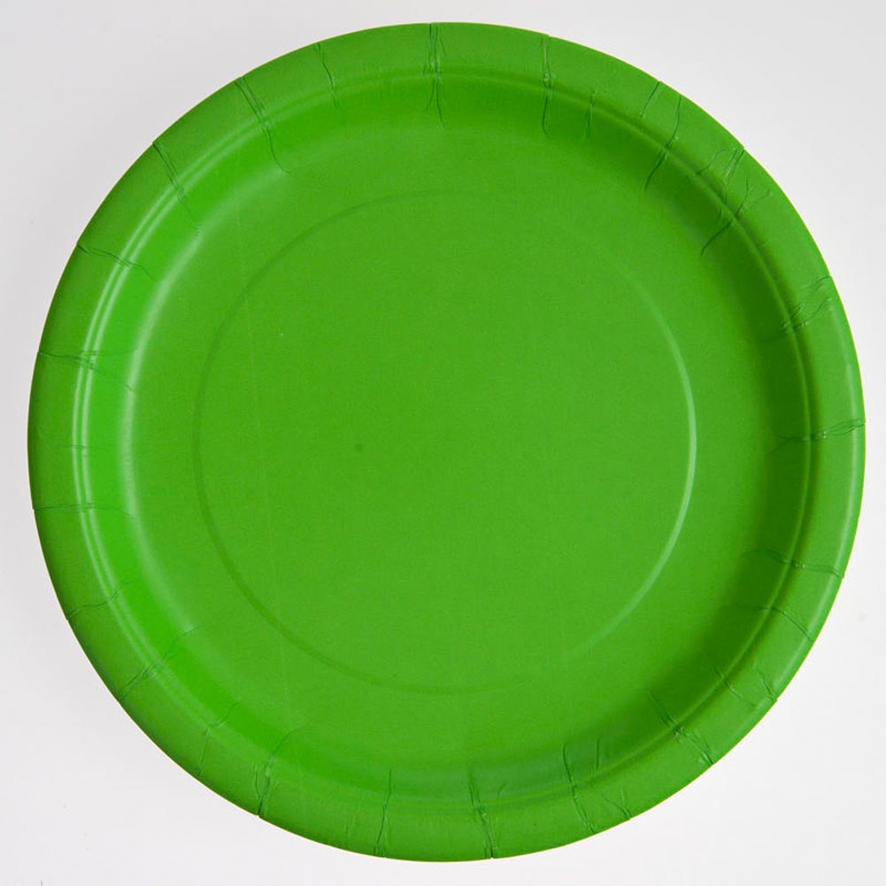 """Lime Green 9"""""""" Plates"""" 203-447"""
