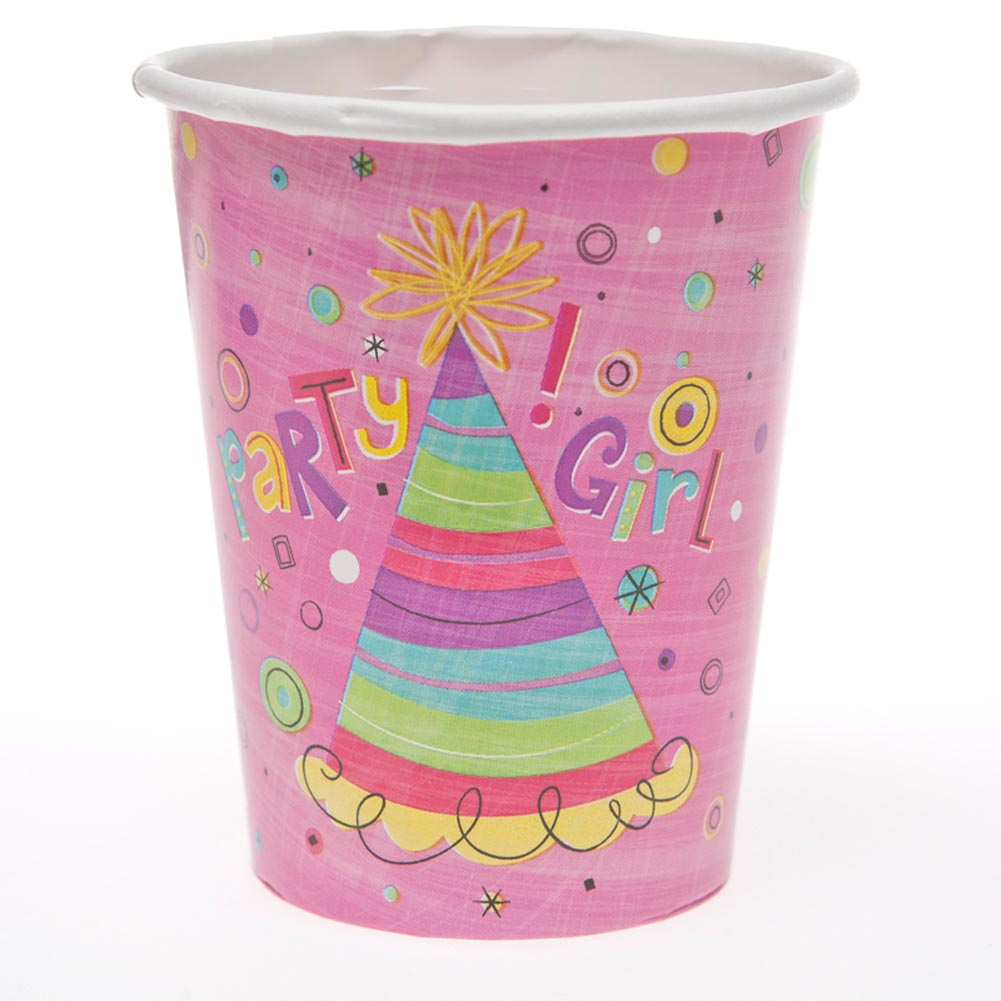 Party Girl 9 oz. Cups 203-507