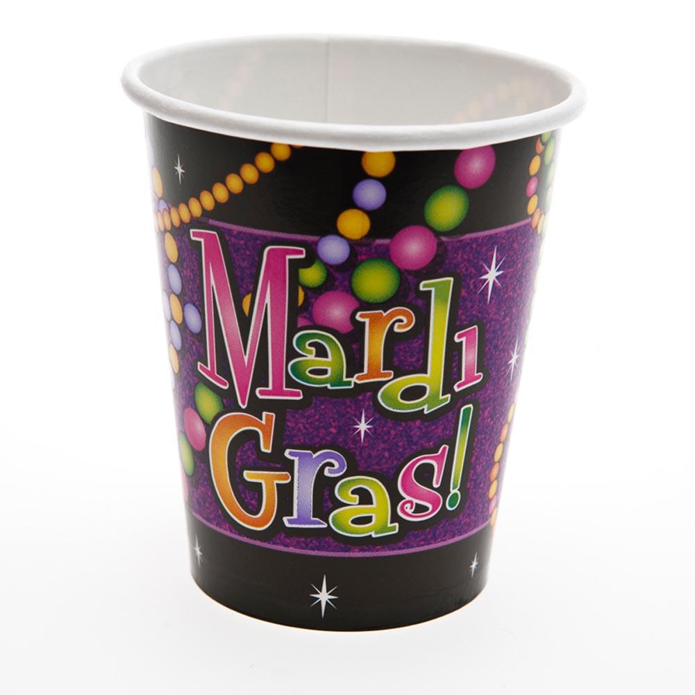 Mardi Gras Bead 9 oz. Cups 203-518