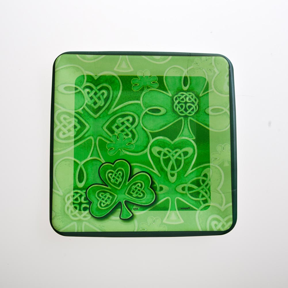 "Happy St. Patrick's Day 7"""" Plates"" 203-522"