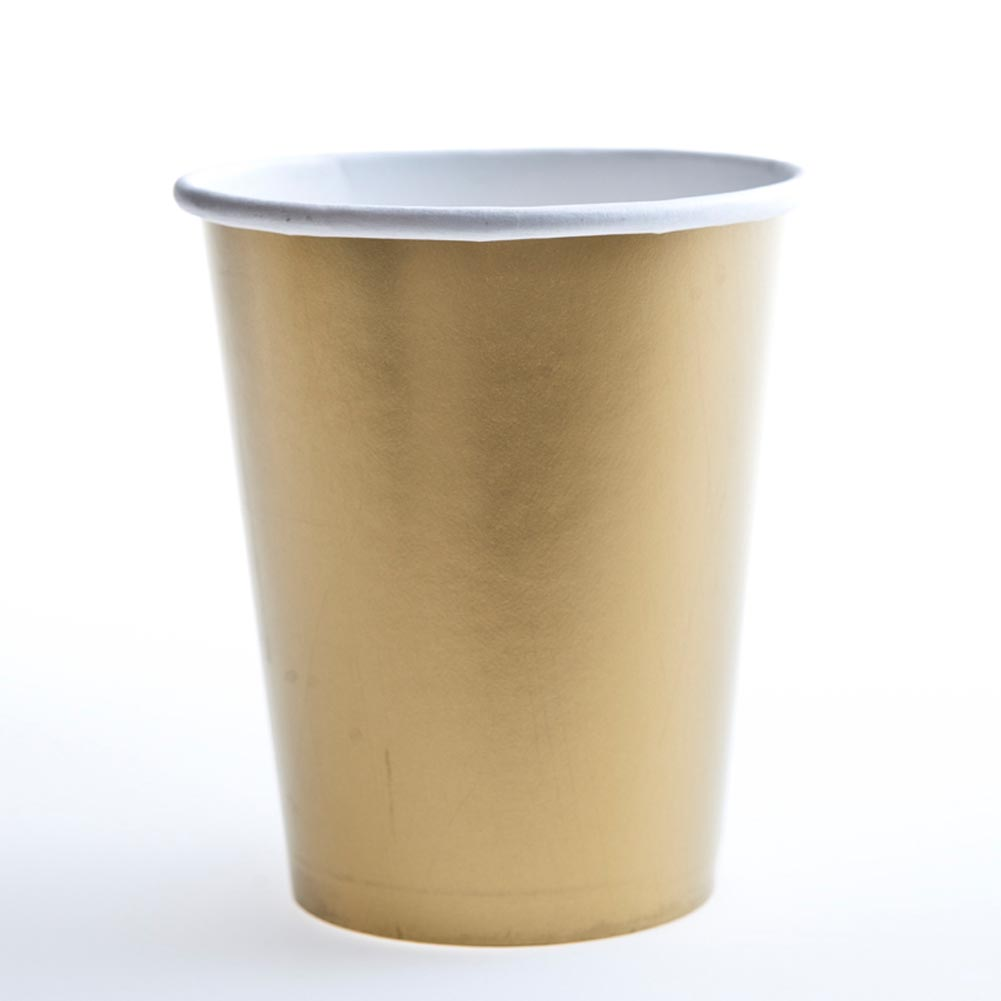 Gold 12 oz. Cups 203-540