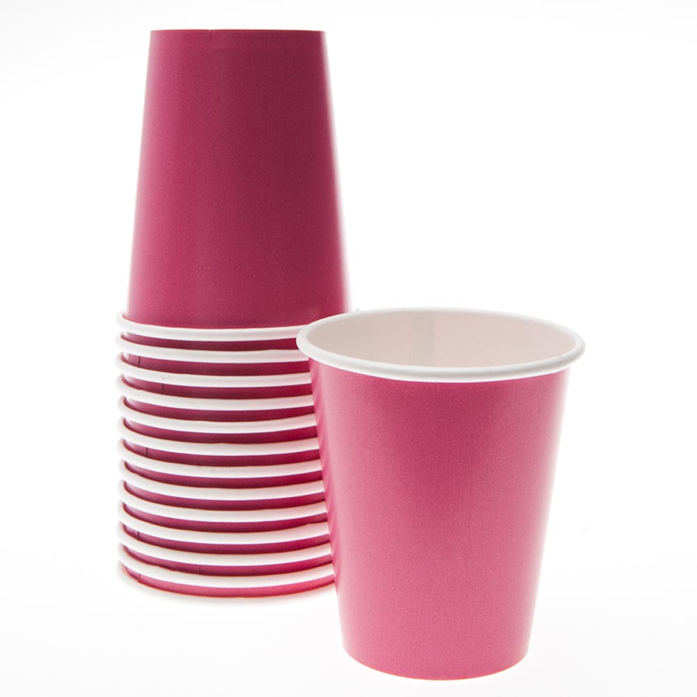 Hot Pink 12 oz. Cups 203-642