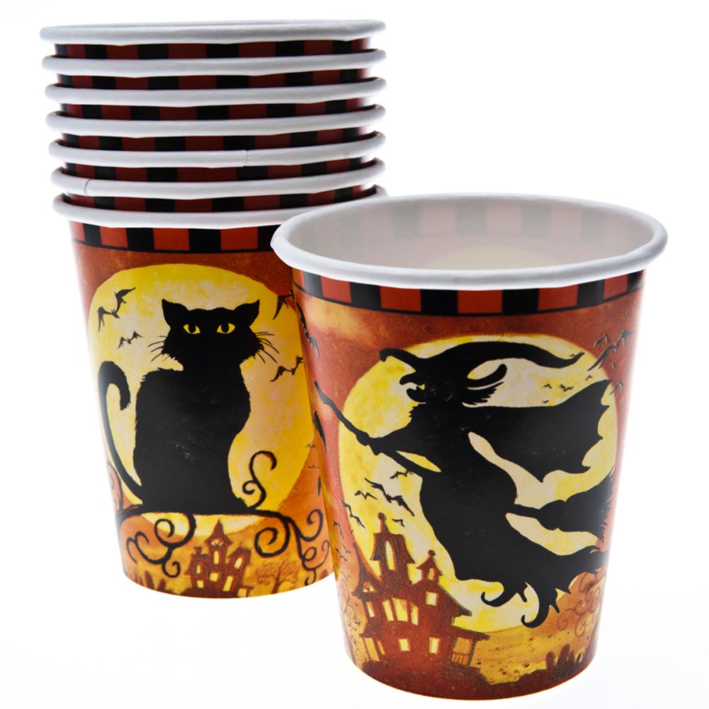 Spooky Hollow 9 oz. Cups 203-661