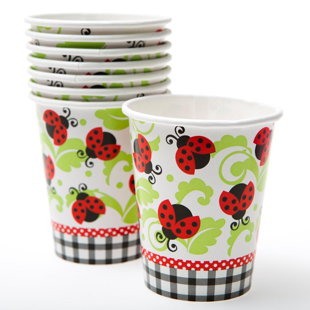 Lively Ladybugs 9 oz. Cups 203-803