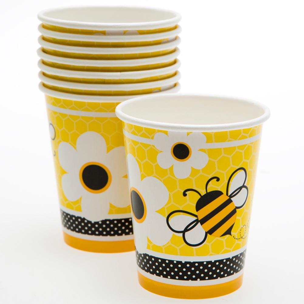 Busy Bees 9 oz. Cups 203-837