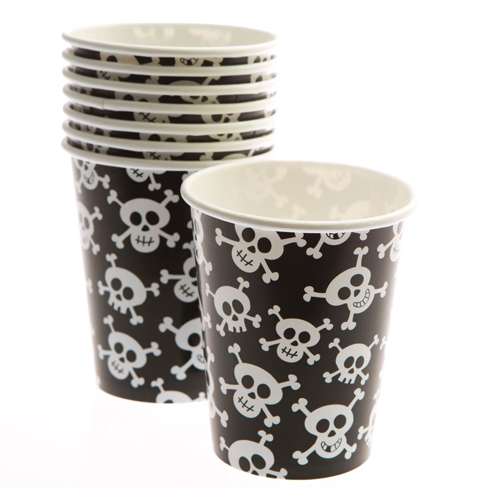 Skull and Crossbones 9 oz. Cups 203-898